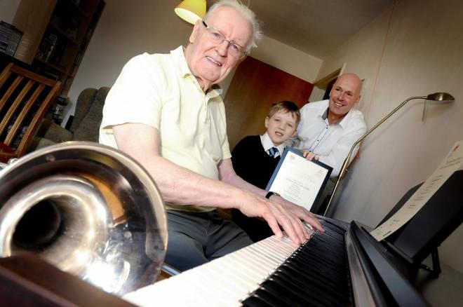 Jack Skelland passed his Grade Three piano exam