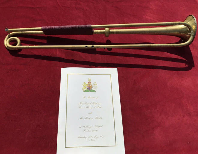 Royal wedding trumpet