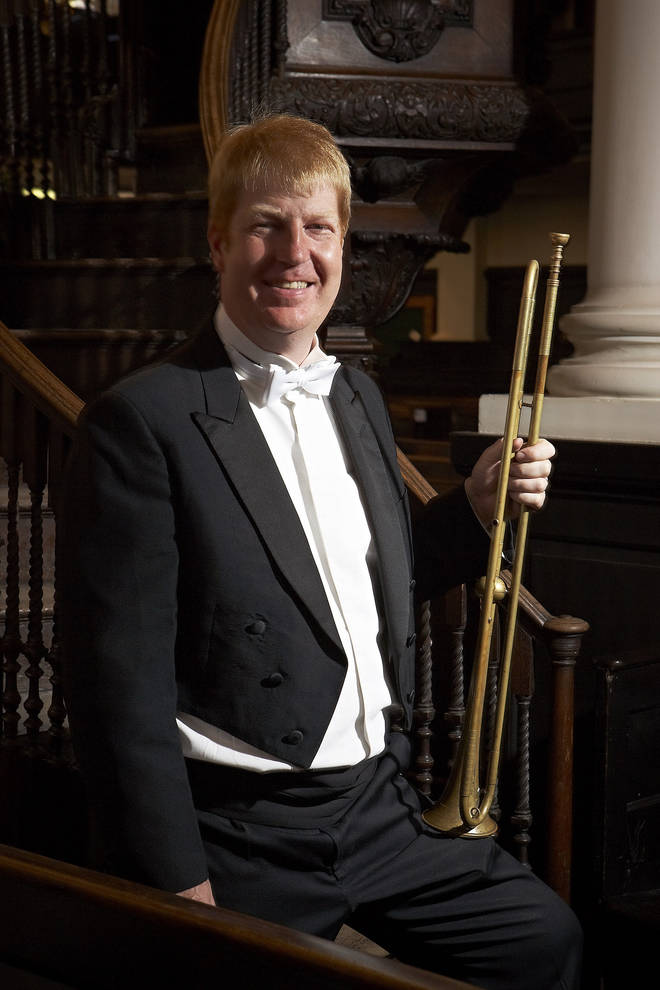David Blackadder, trumpeter
