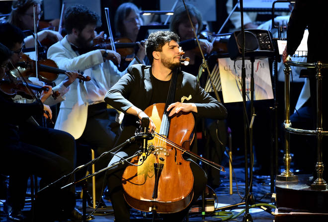 Cellist Jamal Aliyev performs 'Benedictus' at Classic FM Live