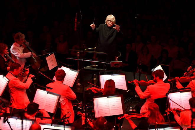 Sir Karl Jenkins conducts 'Benedictus' at the Royal Albert Hall
