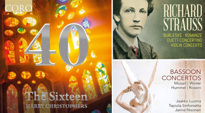 David Mellor's Album Reviews: Jaako Luoma, The Sixteen and Strauss