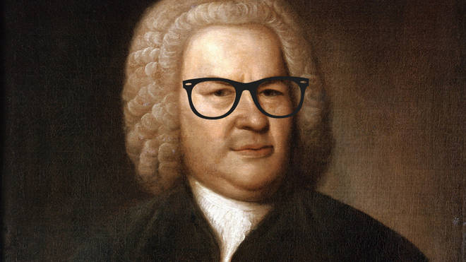 Bach in glasses