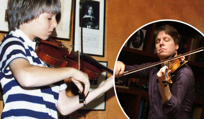 Joshua Bell plays with Josef Gingold