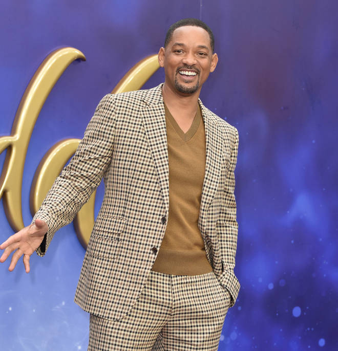 Will Smith attends the European Gala of 'Aladdin' in Leicester Square