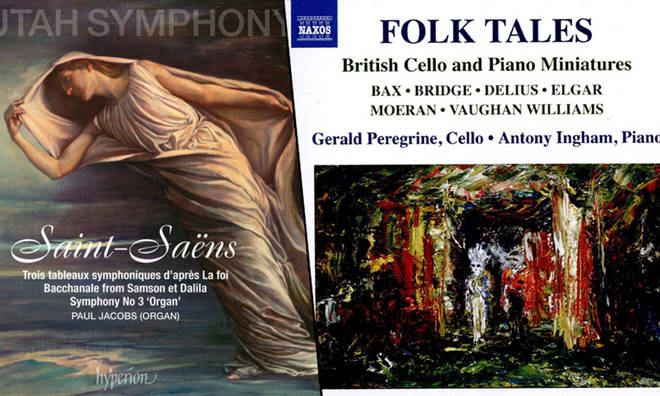 New Releases: Saint-Saëns: Symphony No. 3 – Utah Symphony & Thierry Fischer; Folk Tales – Gerald Peregrine & Antony Ingham