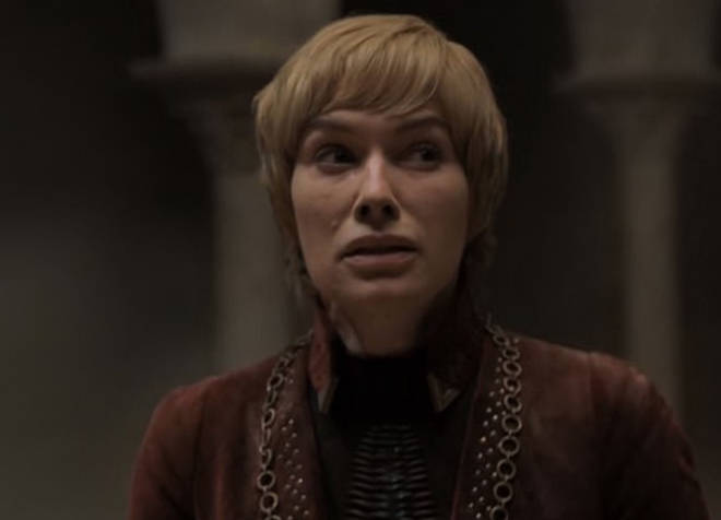 Cersei starts to realise the danger she's in, as the Red Keep starts crumbling brick by brick