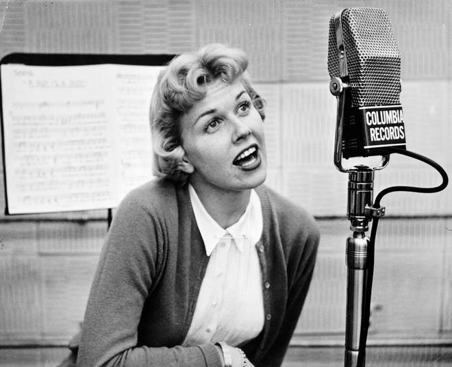 Doris Day sings for Columbia Records in 1970