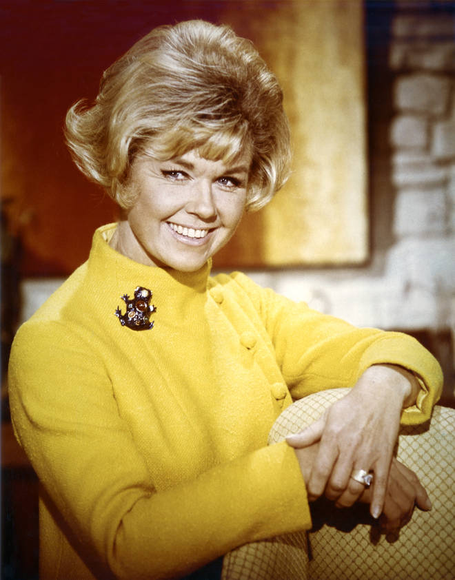 Hollywood actress, Doris Day