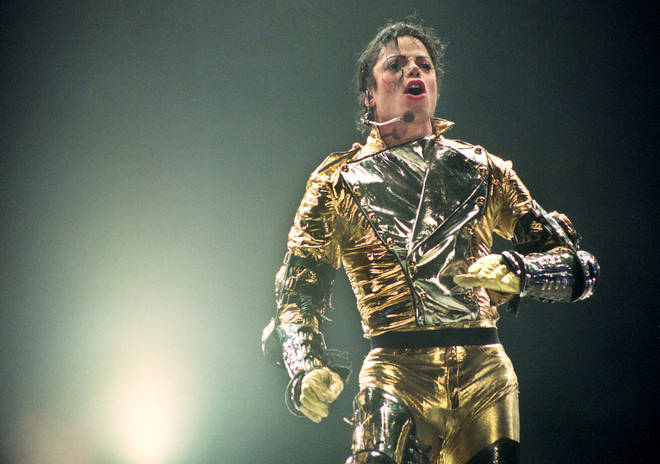 Michael Jackson, rumoured to have written the music for Sonic the Hedgehog 3, performs on his HIStory World Tour