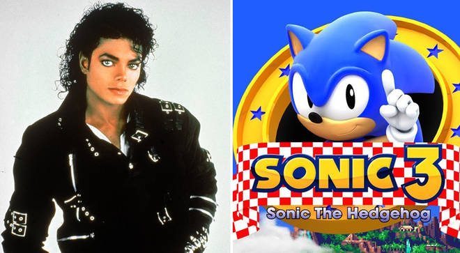 Did Michael Jackson write the music for Sonic the Hedgehog 3?