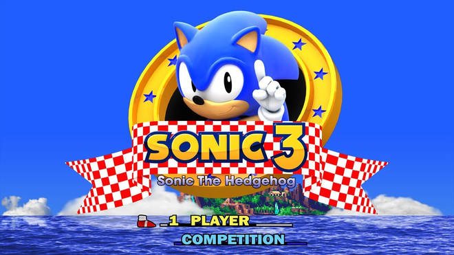 Sonic the Hedgehog 3 – the video game