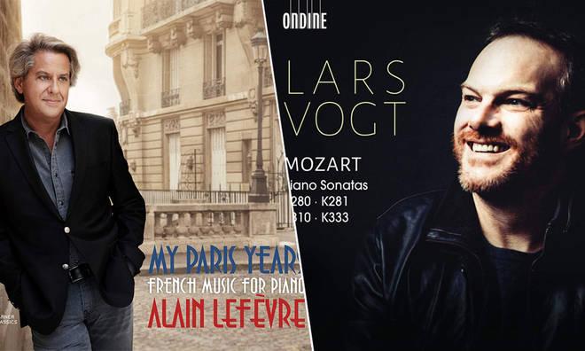 New Releases: Mozart Piano Sonatas – Lars Vogt; My Paris Years – Alain Lefèvre