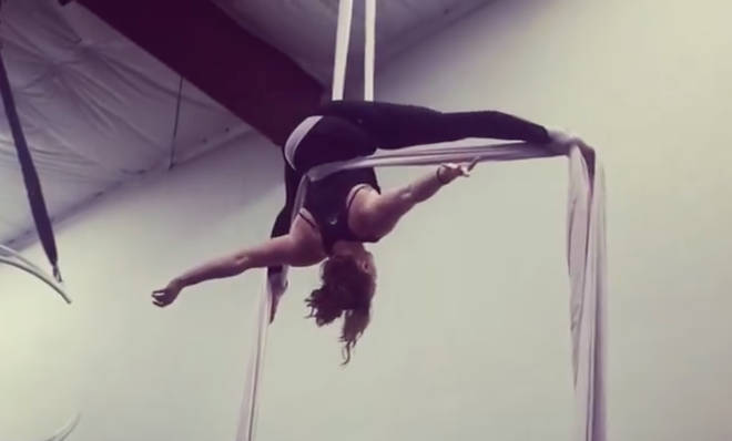 Rainelle Krause is an opera singer and aerialist