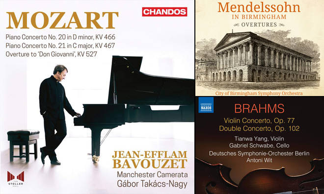 David Mellor's Album Reviews: Mozart, Mendelssohn and Brahms