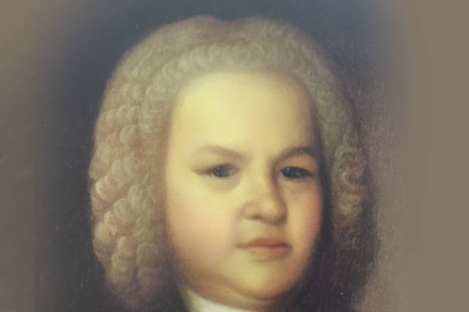 Bach through the Snapchat baby filter