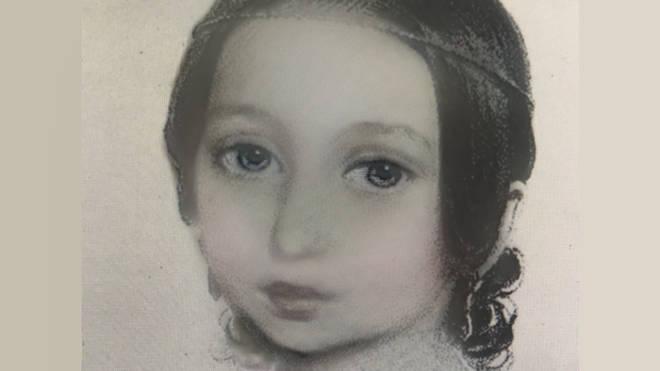 Clara Schumann through the Snapchat baby filter