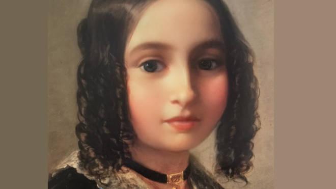 Fanny Mendelssohn Snapchat baby filter