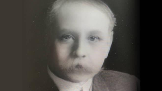 Elgar Snapchat baby filter