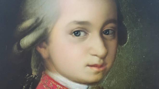 Mozart Snapchat baby filter