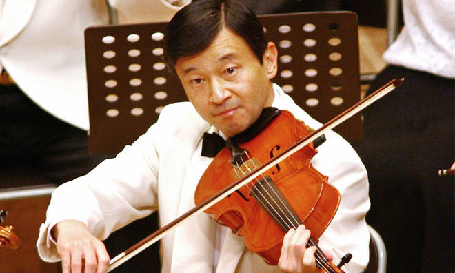 Japan has a new viola-playing Emperor, and Donald Trump just gave him a viola