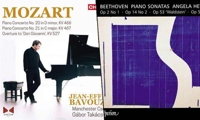 New Releases: Mozart Piano Concertos Vol. 4 – Jean-Efflam Bavouzet; Beethoven Piano Sonatas – Angela Hewitt