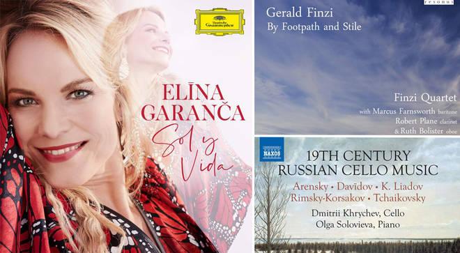 David Mellor's Album Reviews: Elīna Garanča, Gerald Finzi and 19th Century Russian Cello Music