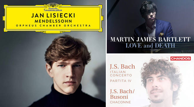 David Mellor's Album Reviews: Martin James Bartlett, Jan Lisiecki and Federico Colli
