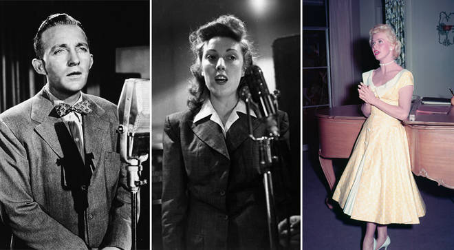 Wartime songs: Bing Crosby, Vera Lynn, Doris Day