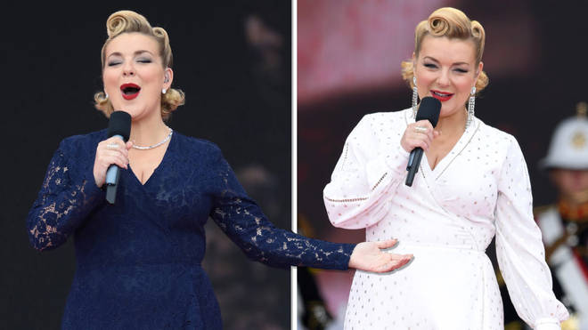 Sheridan Smith performs at 75th D-Day anniversary