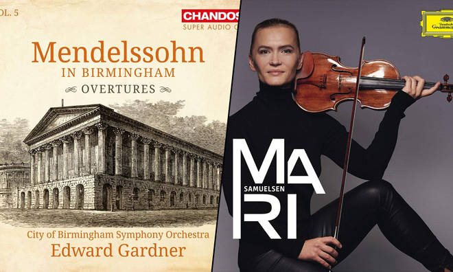 New Releases: Mendelssohn in Birmingham Overtures – BSO & Edward Gardner; Mari – Mari Samuelsen
