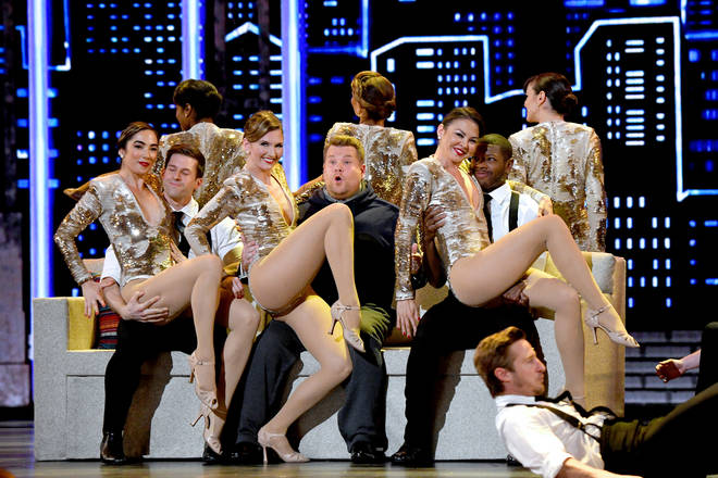 73rd Annual Tony Awards opening number with James Corden