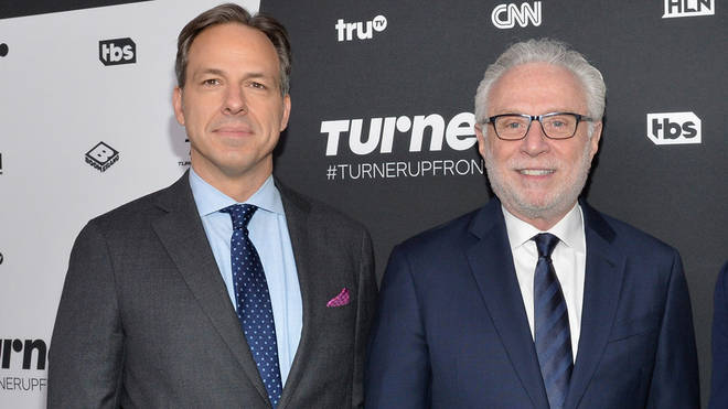 Jake Tapper and Wolf Blitzer