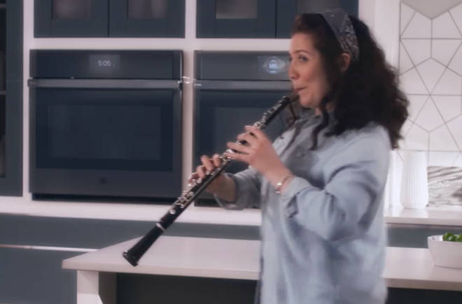 The company used the sound of a clarinet to dub an oboist