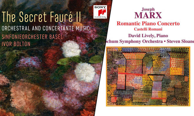 The Secret Fauré II – Sinfonieorchester Basel; Marx Romantic Piano Concerto – David Lively