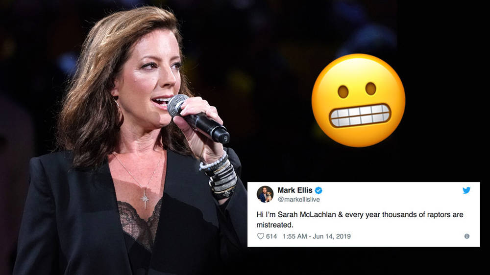 Sarah McLachlan sang 'O Canada' at last night's NBA Finals – and the Internet is divided