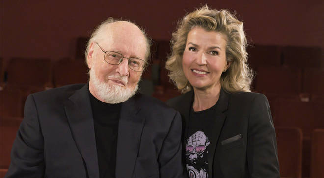 Pictured: John Williams and Anne-Sophie Mutter