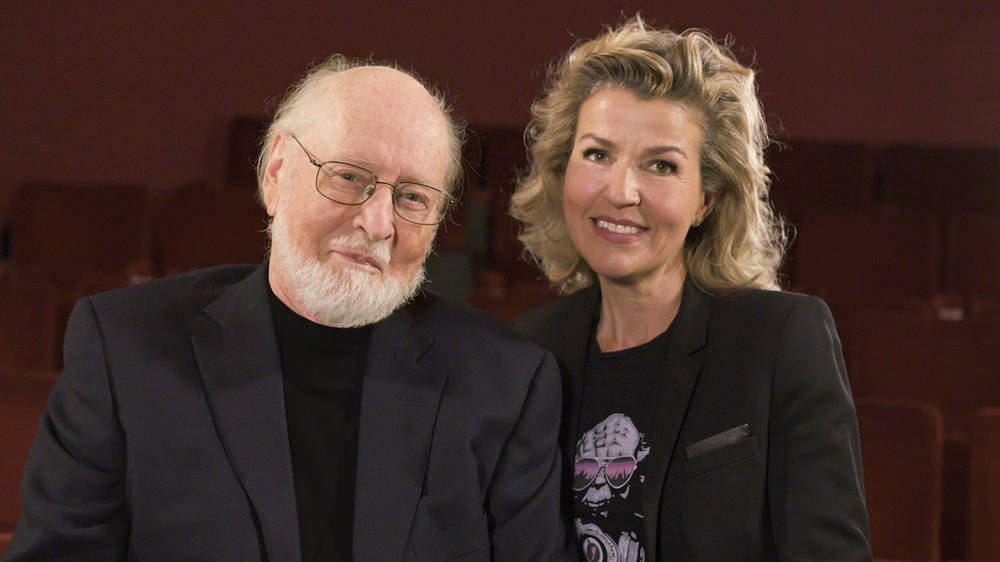 John Williams is releasing an album of iconic film themes with violinist Anne-Sophie Mutter