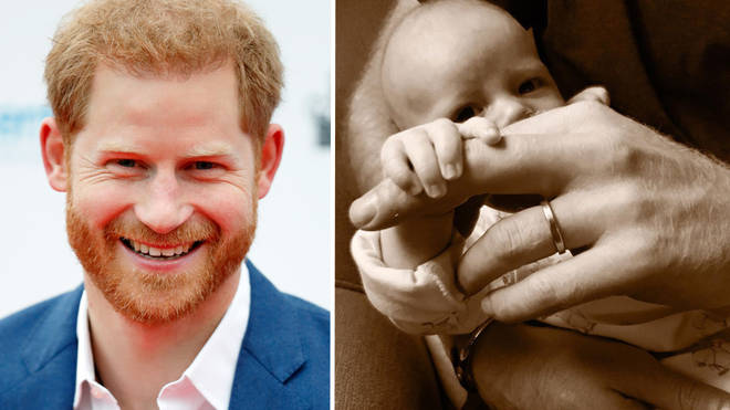 Prince Harry celebrates Father's Day with baby Archie