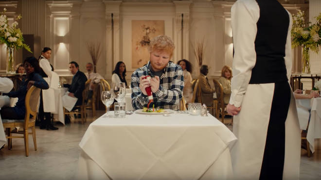 Ed Sheeran stars in new Heinz advert