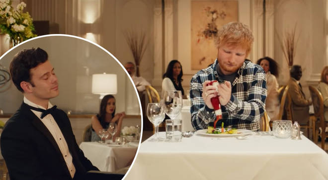 Heinz ketchup advert stars Ed Sheeran