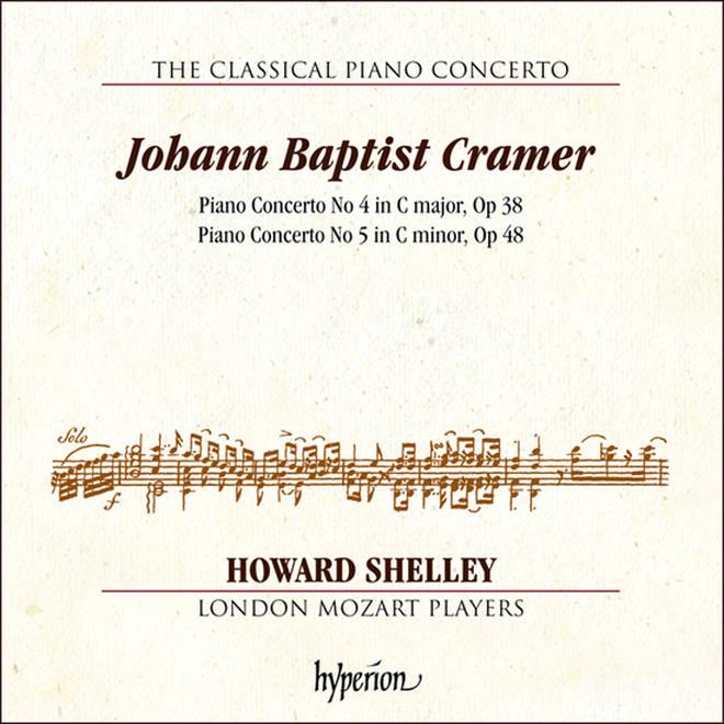 Cramer Piano Concertos Nos. 4 & 5 – Howard Shelley & London Mozart Players
