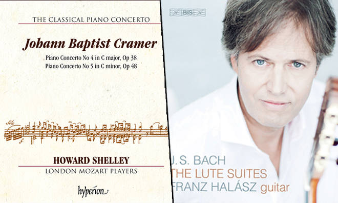 New Releases: Cramer Piano Concertos Nos. 4 & 5 – Howard Shelley & London Mozart Players; Bach: The Lute Suites – Franz Halász