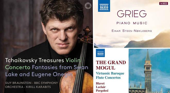 David Mellor's Album Reviews: Tchaikovsky, Grieg Piano Music and Baroque Flute Concertos