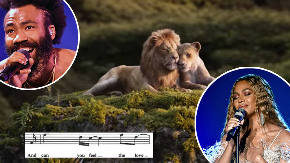 Beyonce And Donald Glover Sing Lion Kings Can You Feel The