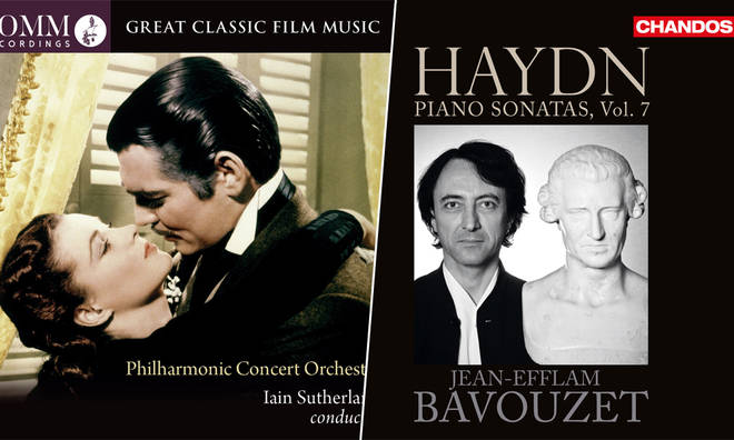 New Releases: Great Classic Film Music – Iain Sutherland & PCO; Haydn Piano Sonatas Vol. 7 – Jean-Efflam Bavouzet