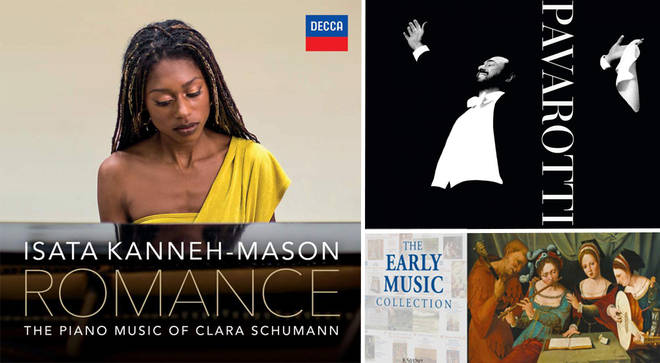 David Mellor's Album Reviews: Pavarotti, Isata Kanneh-Mason and The Early Music Collection