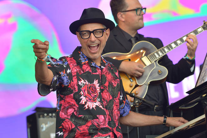 Jeff Goldblum at Glastonbury Festival 2019 - Day Five