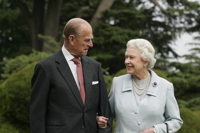 His Royal Highness Prince Philip with Her Majesty Queen Elizabeth II