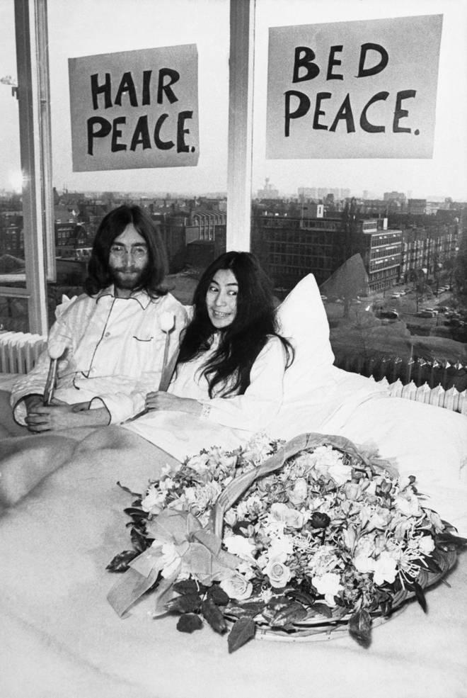 John Lennon and Yoko Ono's honeymoon bed-in for peace, Toronto